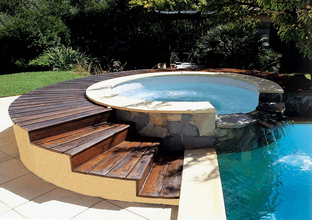 Deco piscine hors sol id es de for Sol piscine